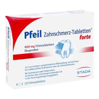 Pfeil Zahnschmerz-Tabletten forte 400mg bei Apotheke.de bestellen