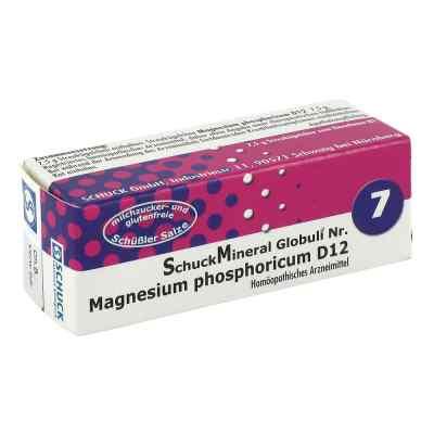 Schuckmineral Globuli 7 Magnesium phosphoricum D12  bei Apotheke.de bestellen