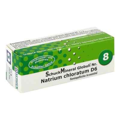 Schuckmineral Globuli 8 Natrium chloratum D6  bei Apotheke.de bestellen