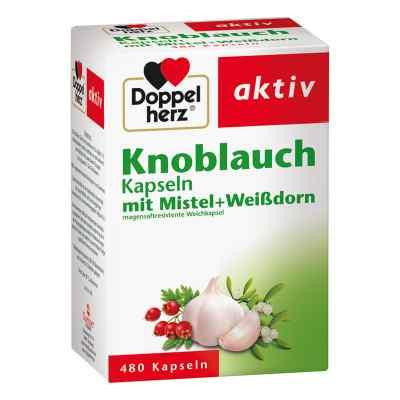 Doppelherz aktiv Knoblauch mit Mistel+Weißdorn  bei Apotheke.de bestellen