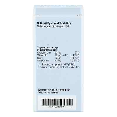 Q10 Vit Synomed Tabletten  bei Apotheke.de bestellen