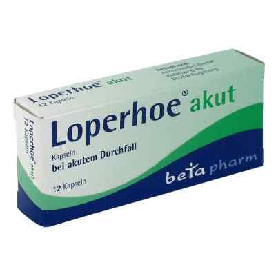 Loperhoe akut