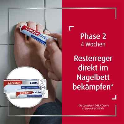 Canesten Extra-Nagelset gegen Nagelpilz (+15 Pflaster+Schaber)  bei Apotheke.de bestellen