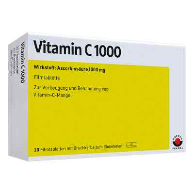 Vitamin C 1000 Filmtabletten  bei Apotheke.de bestellen
