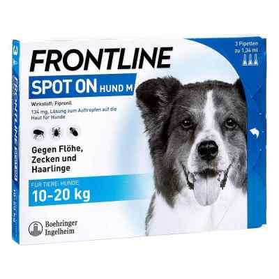 Frontline Spot on Hund 20 veterinär  Lösung  bei Apotheke.de bestellen