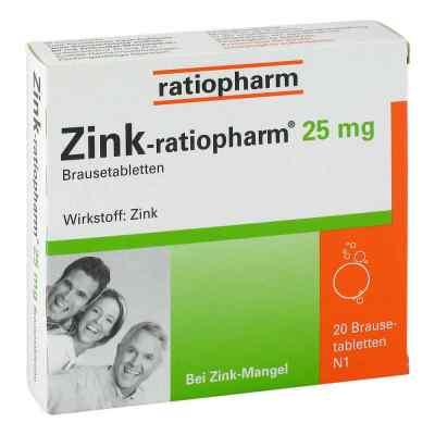 Zink-ratiopharm 25mg  bei Apotheke.de bestellen