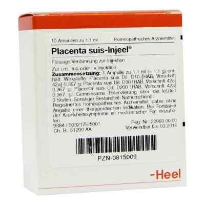 Placenta Suis Injeel Ampullen  bei Apotheke.de bestellen