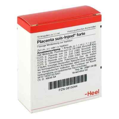 Placenta Suis Injeel forte Ampullen  bei Apotheke.de bestellen
