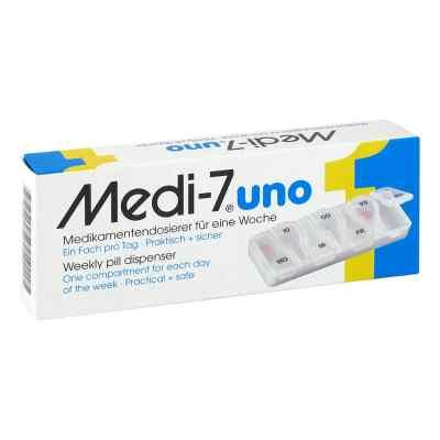 Medi 7 Uno Medikamenten Dosierer für 7 Tage  bei Apotheke.de bestellen