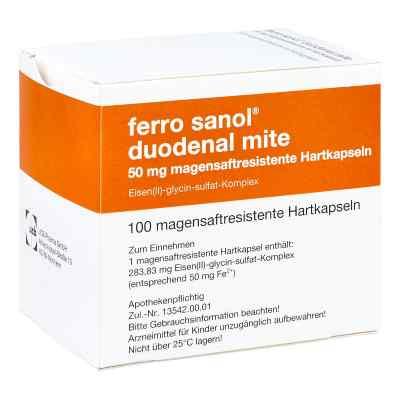 Ferro sanol duodenal mite 50mg  bei Apotheke.de bestellen