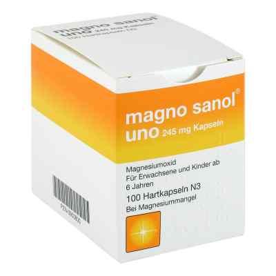 Magno Sanol uno 245 mg Hartkapseln