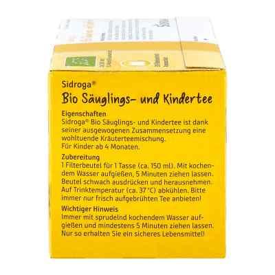 Sidroga Bio Säuglings- und Kindertee Filterbeutel  bei Apotheke.de bestellen