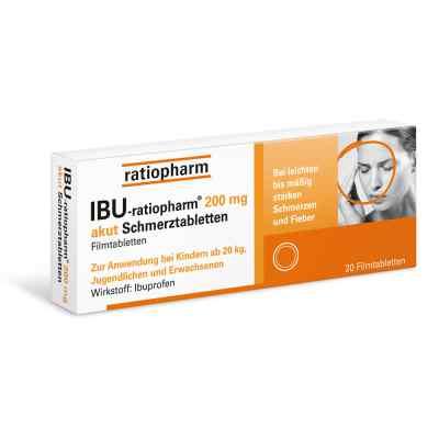 IBU-ratiopharm 200 akut Schmerztabletten  bei Apotheke.de bestellen