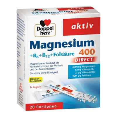 Doppelherz Magnesium + B Vitamine Direkt Pellets