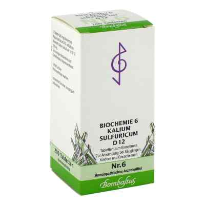 Biochemie 6 Kalium sulfuricum D 12 Tabletten  bei Apotheke.de bestellen