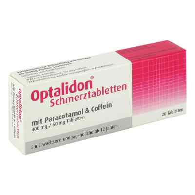 Optalidon Schmerztabletten mit Paracetamol und Coffein