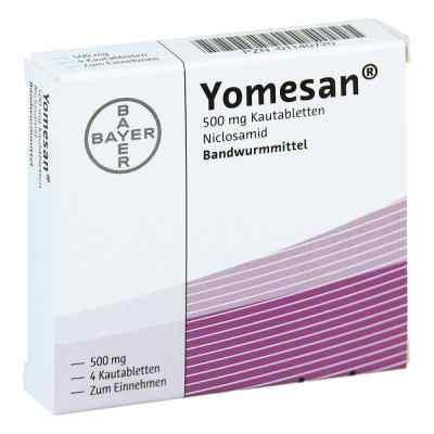 Yomesan 500 mg Kautabletten  bei Apotheke.de bestellen