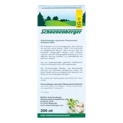 Knoblauch Naturreiner Pflanzentr.schoenenberger  bei Apotheke.de bestellen