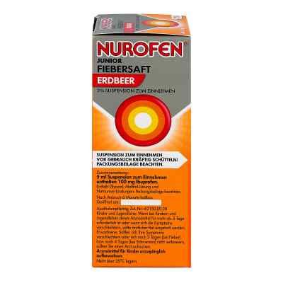 Nurofen Junior Fiebersaft Erdbeer 2%  bei Apotheke.de bestellen