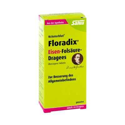 Floradix Eisen-Folsäure-Dragees bei Apotheke.de bestellen