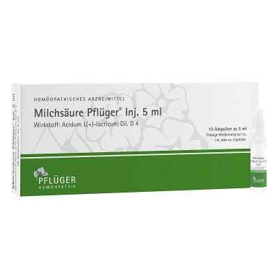 Milchsäure Pflüger Injektionslösung 5 ml  bei Apotheke.de bestellen