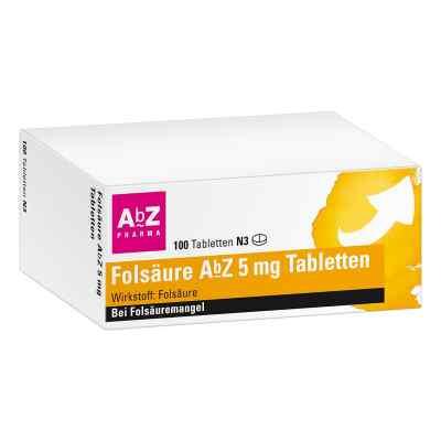 Folsäure Abz 5 mg Tabletten  bei Apotheke.de bestellen