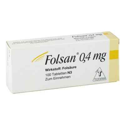 Folsan 0,4 mg Tabletten  bei Apotheke.de bestellen