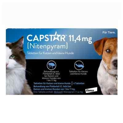 Capstar 11,4 mg für Katzen und kleine Hunde Tabletten  bei Apotheke.de bestellen