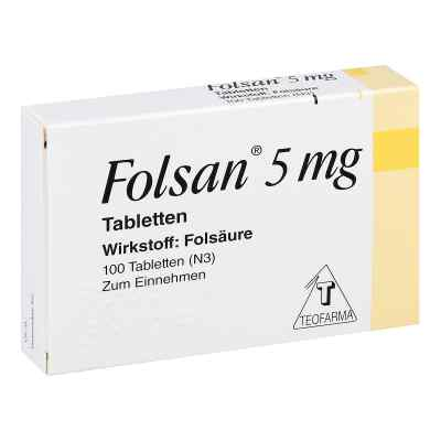 Folsan 5 mg Tabletten