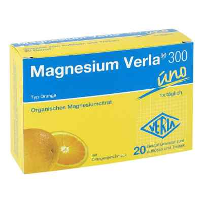 Magnesium Verla 300 Beutel  Granulat  bei Apotheke.de bestellen