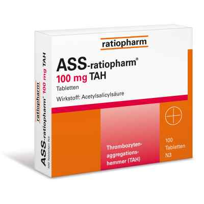 ASS-ratiopharm 100mg TAH