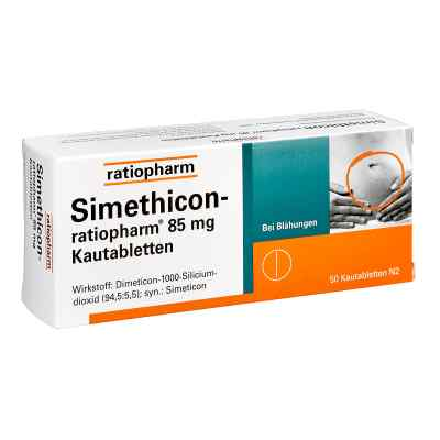 Simethicon-ratiopharm 85mg  bei Apotheke.de bestellen