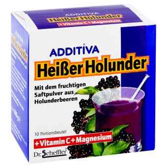 Additiva Heisser Holunder Pulver