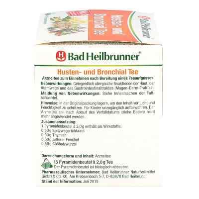 Bad Heilbrunner Tee Husten und Bronchial Filterbtl  bei Apotheke.de bestellen
