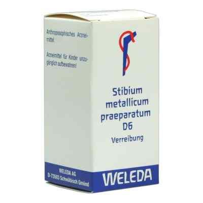 Stibium Met. Praeparatum D6 Trituration  bei Apotheke.de bestellen