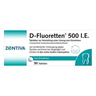 D-Fluoretten 500 internationale Einheiten  bei Apotheke.de bestellen
