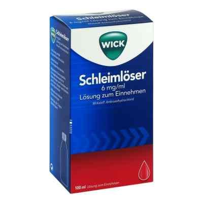 WICK Schleimlöser 6mg/ml Lösung zum Einnehmen
