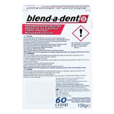 Blend A Dent Reinigungs Tabs langanhalt.Frische  bei Apotheke.de bestellen