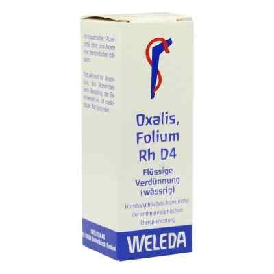 Oxalis Folium Rh D4 Dilution  bei Apotheke.de bestellen