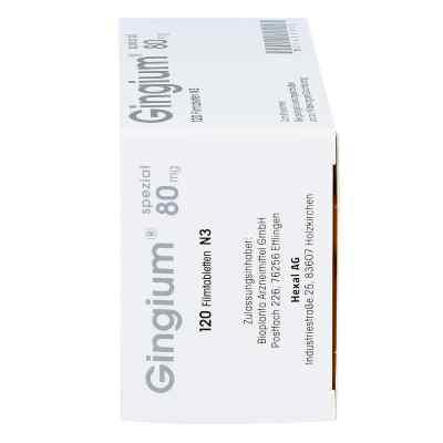 Gingium spezial 80mg  bei Apotheke.de bestellen