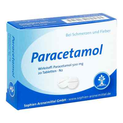 Paracetamol 500 Sophien  bei Apotheke.de bestellen