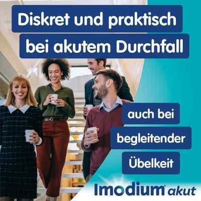 Imodium akut lingual Schmelztabletten bei akutem Durchfall  bei Apotheke.de bestellen
