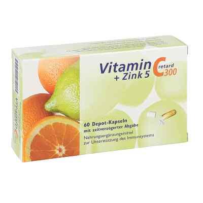 Vitamin C 300 + Zink 5 retard Kapseln  bei Apotheke.de bestellen