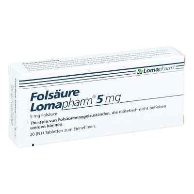 Folsäure Lomapharm 5 mg Tabletten  bei Apotheke.de bestellen