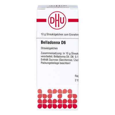 Belladonna D 6 Globuli  bei Apotheke.de bestellen