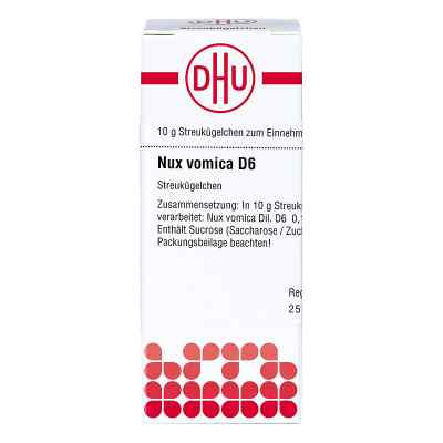 Nux Vomica D 6 Globuli  bei Apotheke.de bestellen