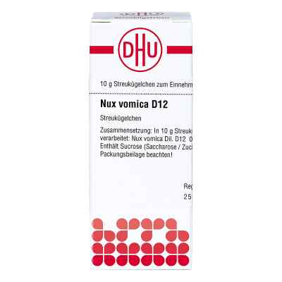 Nux Vomica D 12 Globuli  bei Apotheke.de bestellen