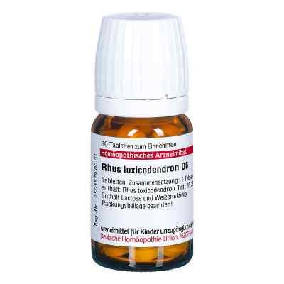 Rhus Tox. D6 Tabletten  bei Apotheke.de bestellen