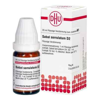 Sabal Serrul. D2 Dilution  bei Apotheke.de bestellen