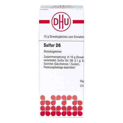 Sulfur D 6 Globuli  bei Apotheke.de bestellen